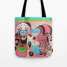 underground production Tote Bag