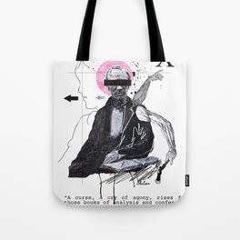 Mighty Poets in Their Misery Dead Tote Bag