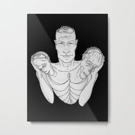 Weight (v2) Metal Print