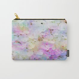 Marble Lights Hydrangea Carry-All Pouch