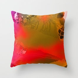 Olympicwave Throw Pillow