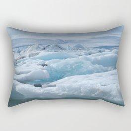 Jökulsarlon Iceland Rectangular Pillow