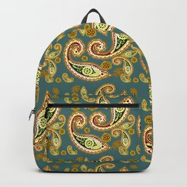 Oriental pattern blue ( https://society6.com/simpledoodles/collection ) Backpack