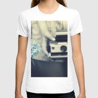 hydrangea T-shirts featuring hydrangea  by Kearsten Taylor