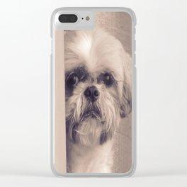 Shih Tzu Clear iPhone Case