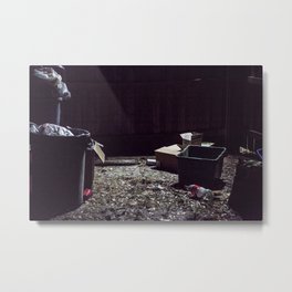 Trash Metal Print