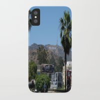 hollywood iPhone & iPod Cases featuring Hollywood by Elizabeth Tompkins