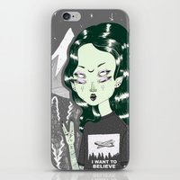 loll3 iPhone & iPod Skins featuring ☽ ZELINA ☾ by lOll3