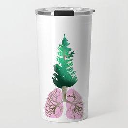 organic lungs Travel Mug