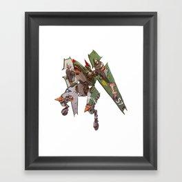JetHead Warhawk (No Text) Framed Art Print