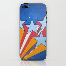Shooting Stars iPhone Skin