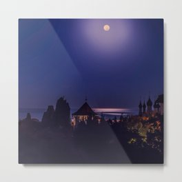 Magic night Metal Print