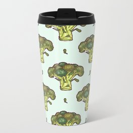 brilliant broccoli Metal Travel Mug