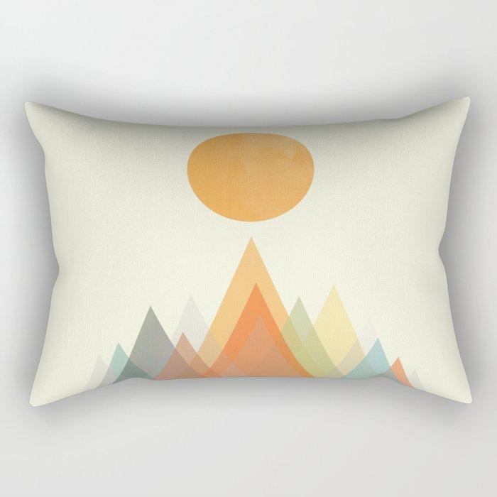 Spring in the mountains Rectangular Pillow