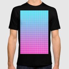 Gradient MEDIUM Mens Fitted Tee Black