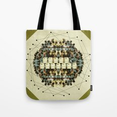 Human Network Tote Bag