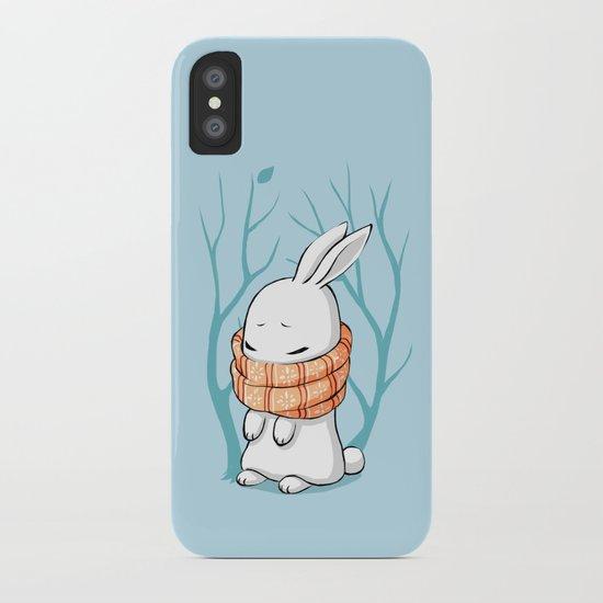 Winter Bunny iPhone Case