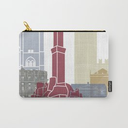 Genoa skyline poster Carry-All Pouch