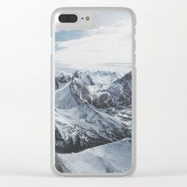 Snowy Mountains of Alberta Clear iPhone Case