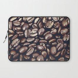 roasted coffee beans texture acrfn Laptop Sleeve