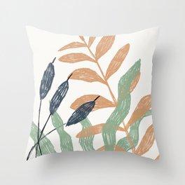 sea - selva collection Throw Pillow