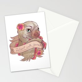 Be Patient With Yourself Stationery Cards