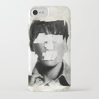 number iPhone & iPod Cases featuring Faceless | number 02 by FAMOUS WHEN DEAD