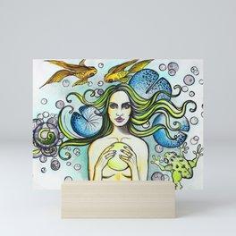 Rusalka Mini Art Print