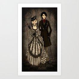Dark Cabaret Art Print