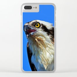 Righteous Raptor Clear iPhone Case