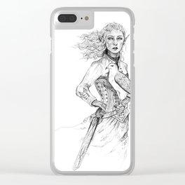Queen of Terrasen Clear iPhone Case