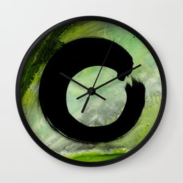 Enso Abstract No. 8G by Kathy Morton Stanion Wall Clock