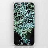 geek iPhone & iPod Skins featuring GEEK by taniavisual
