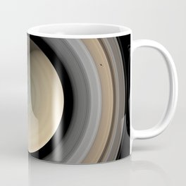 Saturn Planet Ultra Realistic 2 Coffee Mug