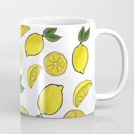 Easy Peasy Lemon Squeezy (white) Coffee Mug