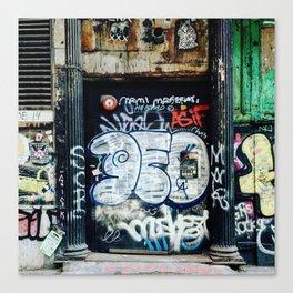 Graffiti NYC Canvas Print