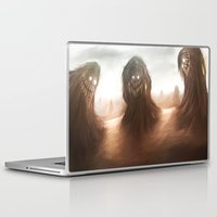 nightmare Laptop & iPad Skins featuring Nightmare by Teodor Borisov