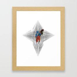 the portal Framed Art Print