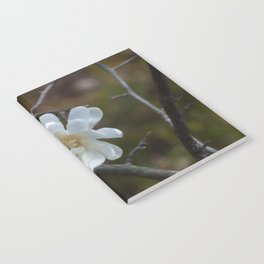 Floral Print 086 Notebook