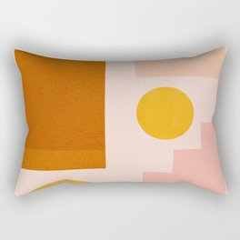 Abstraction_SHAPES_Minimalism_01 Rectangular Pillow