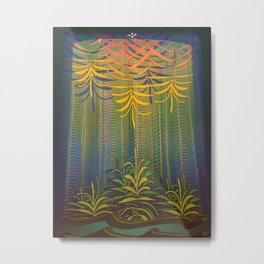 Inner Paradise / Encounter Metal Print