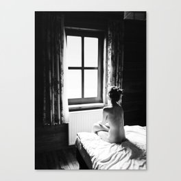 The Trap Of Melancholy Canvas Print