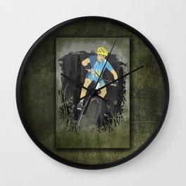 Bicycle Guy Wall Clock