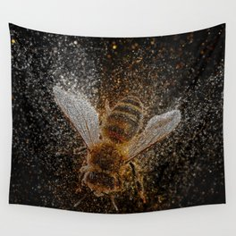 Bees Are Magic Wall Tapestry