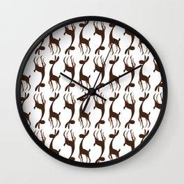 Model Rabbit Wall Clock