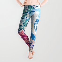 Blossoming rose Leggings