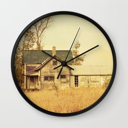 Lonely World Wall Clock