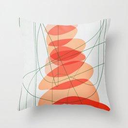 pent-up Throw Pillow