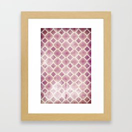 Square Rooms Framed Art Print