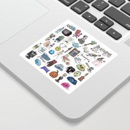 Objects Sticker